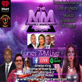Tonight !! Invitados Sheila King-Edmarie Rodriguez-Edgardo Rubio-Keith Wongu JR| Music-Hot Topics-Entrevistas