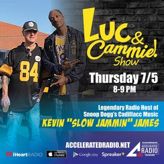 "Accelerated Radio - Kevin ""Slow Jammin"" James & DJ Hustle - 7.5.18"