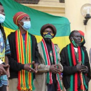 CALMIE AFRICAN DIARY SHOW- 'LEGALIZATION' OF MARIJUANA BY THE RASTAFARI COMMUNITY