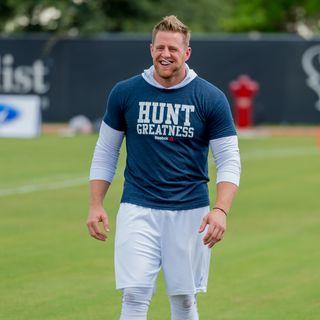 JJWatt-  7/31/2017-  Houston Texans Training Camp Post Workout Interview