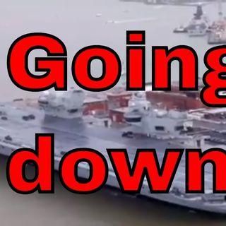 HMS Elizabeth And Britain Have Sprung A Leak (featuring an amusing poem)