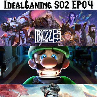 IdealGaming S02 EP04 - BlizzCon 2019, Luigi's Mansion 3 e The Outer Worlds