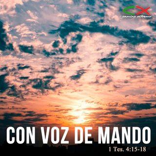 Oración 23 de marzo (Con voz de mando)