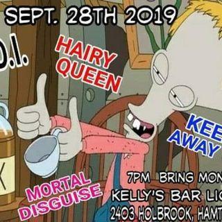 Keep Away @ Kelly's Bar - Hamtramck MI 9/28/19