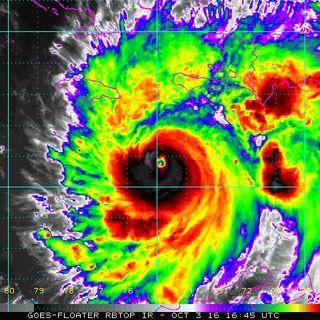 Hurricane Matthew Roars Into Haiti