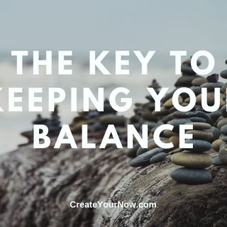 1852 The Key to Keeping Your Balance