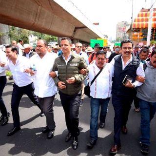 Gobernador de Oaxaca apoya a mezcaleros en marchas