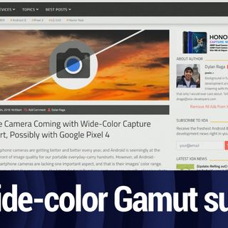Wide-color Gamut in Pixel 4? | TWiT Bits