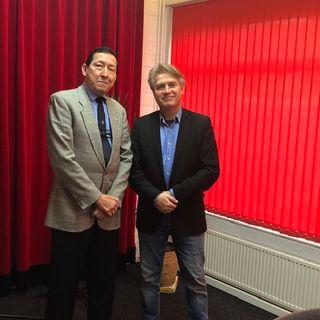 In gesprek met Kapitein-ter-zee van Administratie, Frank Marcus , voormalig directeur van het Veteraneninstituut  en Unmee -Veteraan