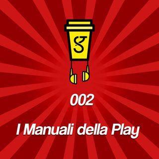 002 - I Manuali della Playstion, una curiosità che sta per estinguersi.