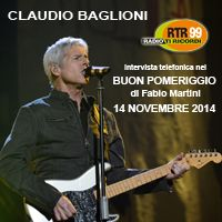 Claudio Baglioni a Buon Pomeriggio