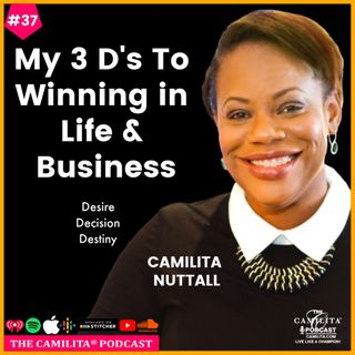 37: Camilita Nuttall | 3 D's to Winning in Life and Business