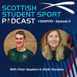 Episode 11 | Peter Sawkins, GBBO & Student Sport