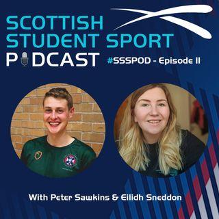 Episode 11 | Peter Sawkins, GBBO & Student Sport