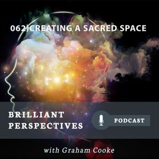 Creating a sacred space.