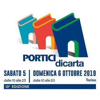 Torino, Portici di Carta 2019 - Intervista a Rocco Pinto