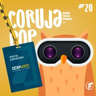 Coruja POP #20 CCXP anuncia versão online para 2020