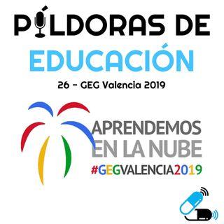 PDE26 - GEG Valencia 2019