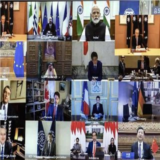 El G20 aborda emergencia por Covid-19