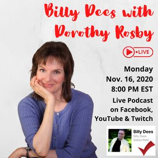 LIVE with Dorothy Rosby Nov 16 2020