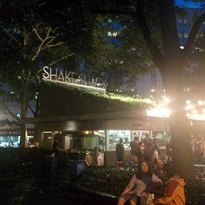 En el Shake Shack