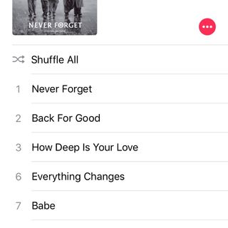 Album Highlights: Take That- Never Forget