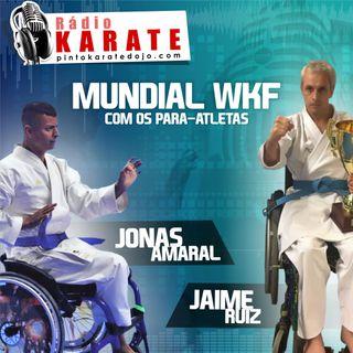 MUNDIAL WKF MADRI - Entrevista com nossos Para-atletas