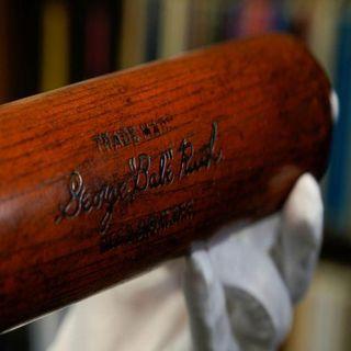 Subastan por más de 1mdd bate del legendario beisbolista Babe Ruth