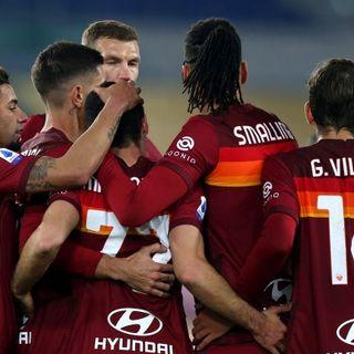 Campionato: la Roma chiude i giochi del turno infrasettimanale con un tris al Torino