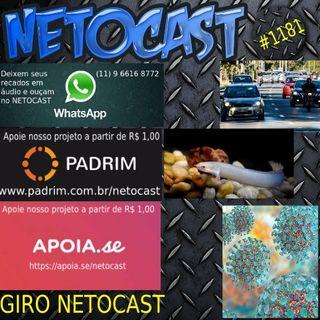 NETOCAST 1181 DE 19/08/2019 - GIRO NETOCAST