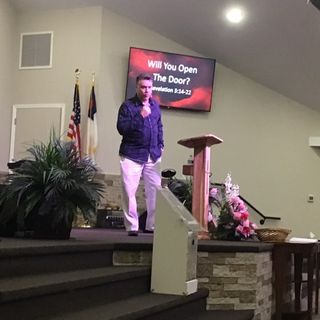"""Pastor Joe's Sermon """"Will You Open The Door"""""""
