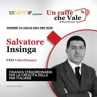 Salvatore Insinga: Finanza straordinaria per la crescita delle PMI italiane