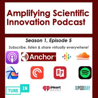 Andrew Satz on the Amplifying Scientific Innovation Podcast with Dr. Sophia Ono