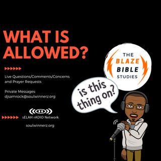 What is Allowed? -DJ SAMROCK