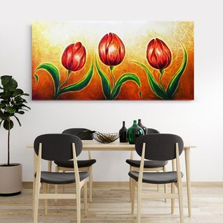 Various fascinating ways you can decorate your house through floral wall art