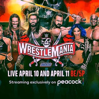 WRESTLEMANIA RESULTS and REACTIONS (4/12/21 Frank & Castle Show)