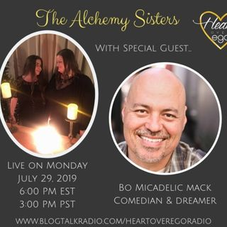 The Alchemy Sisters with Bo Micadelic Mack