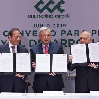 Acuerdo para la inversión; Plagio de diseños oaxaqueños; Cumbre de libertad de prensa y más...