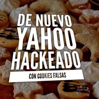 Otra vez Hackeado Yahoo.  Con cookies falsas