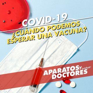¿Cuándo podemos esperar una vacuna para COVID-19?