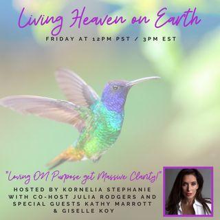 Loving ON Purpose get Massive Clarity with Hummingbird Jewel