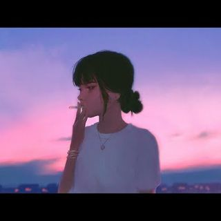 Last breeze of the evening  ~  lofi hip hop mix