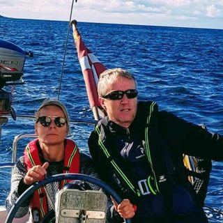 Lene og Steen starter med at sejle - 09.2020