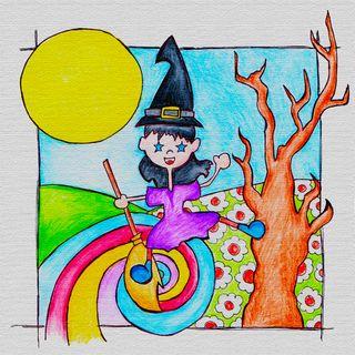 Nera: la strega a colori!