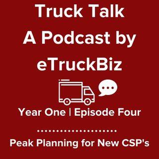 Customer Conversation: Peak Planning for New CSP's