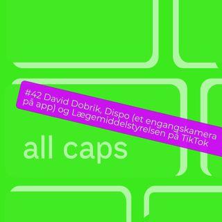 #42 David Dobrik, Dispo (et engangskamera på app) og Lægemiddelstyrelsen på TikTok