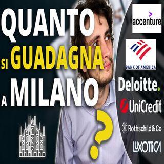 STIPENDIO a MILANO per un LAUREATO ANALISTA in ECONOMIA e FINANZA