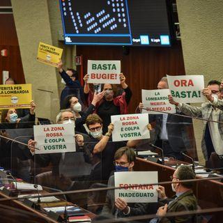 Episodio 45 - La protesta in aula contro l'arroganza di Fontana sui dati - 27 gen 2021