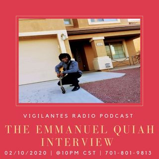 The Emmanuel Quiah Interview.