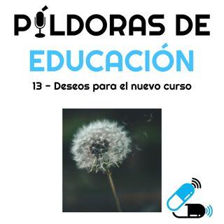 PDE13-Deseos para el nuevo curso